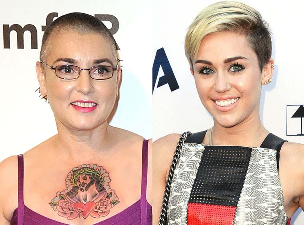 Sinead Oconnor Vs Miley Cyrus From Biggest Celebrity -2495