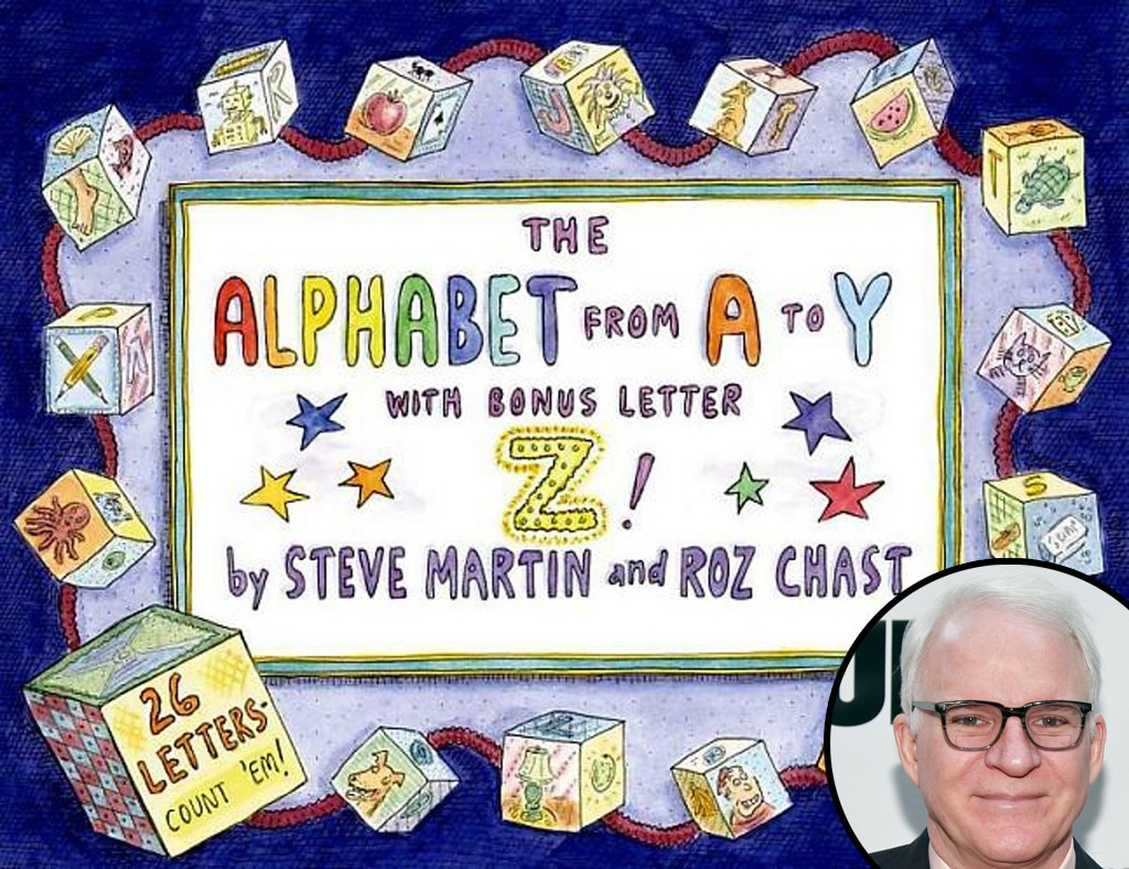 Celebrity Children Books, Steve Martin