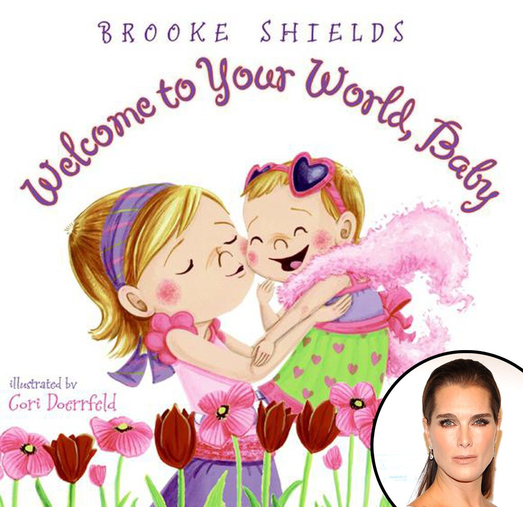 Brooke Shields -  Being a mother to girls herself, the actress had no trouble writing this story. In the book, a young woman becomes a big sister and quickly learns there really is so much to celebrate!