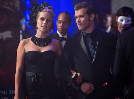 The Originals First Look: Klaus and Rebekah Dress Up for Some Masquerade Mayhem—See the Pics!