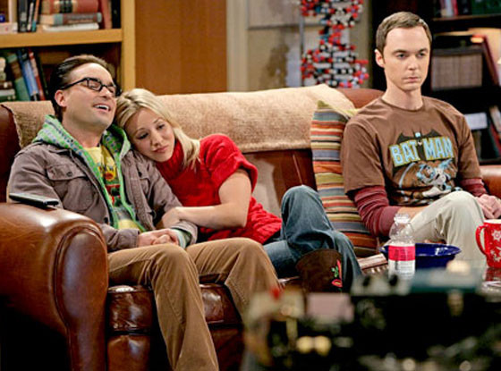 Johnny Galecki, Kaley Cuoco, Jim Parsons, The Big Bang Theory