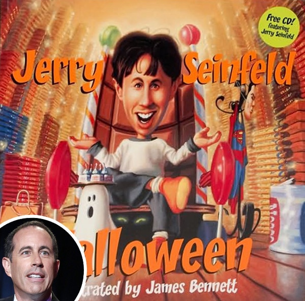 Jerry Seinfeld -  For young kids who don't really understand the meaning of Halloween, the  Seinfeld  actor tries to explain the scary tradition with humor and a little bit of candy.