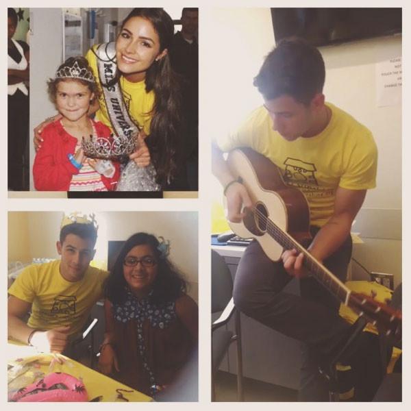 Nick Jonas, Olivia Culpo, Instagram