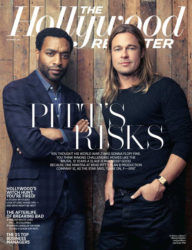 Brad Pitt, Chiwetel Ejiofor, The Hollywood Reporter