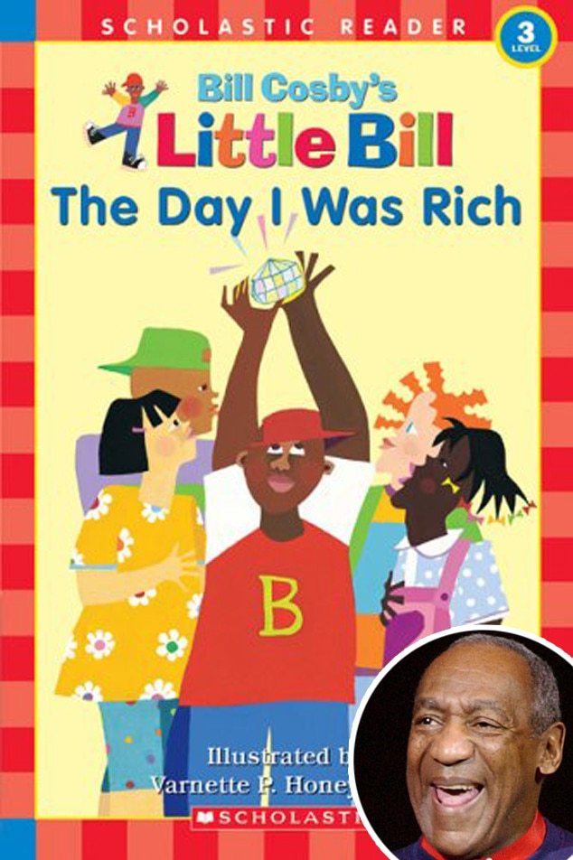 Bill Cosby -  In the actor's book for youngsters,  a boy finds the biggest, most expensive diamond in the world. How will he spend all the money he's about to receive?