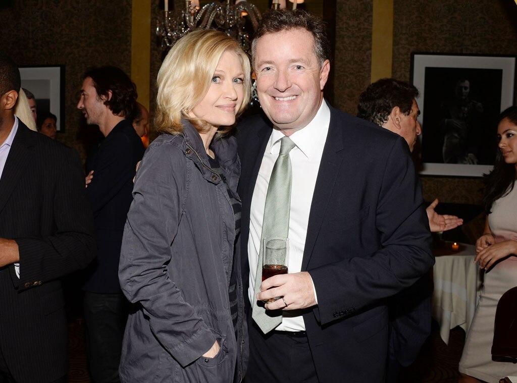 Piers Morgan, Diane Sawyer