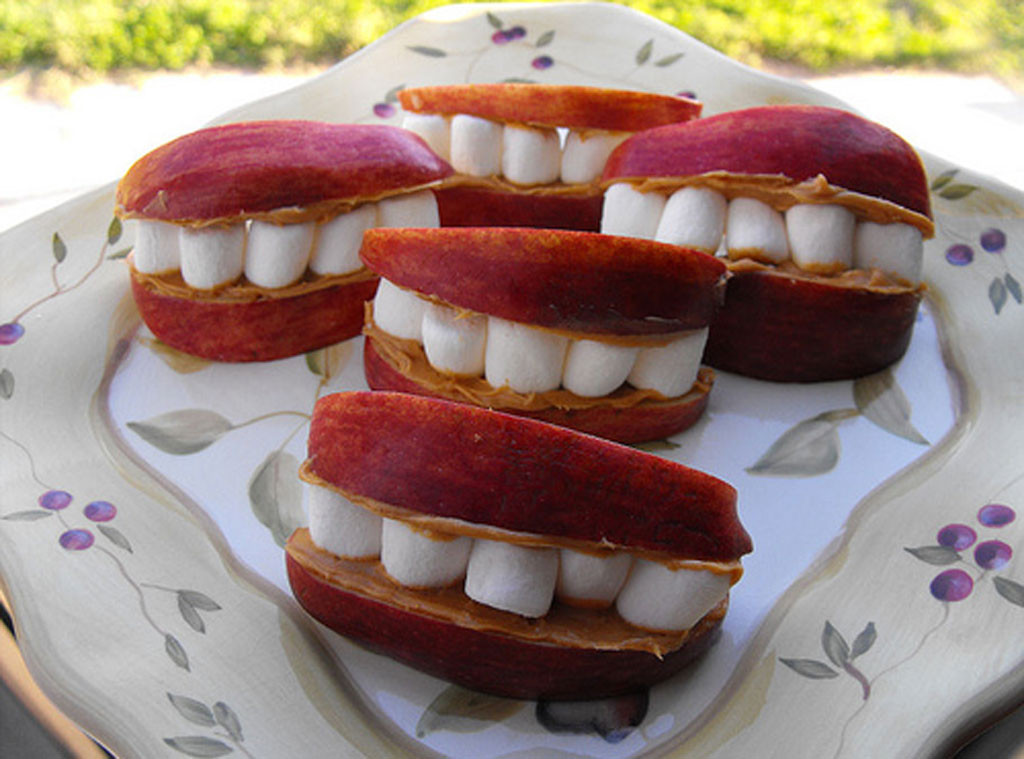 Apple Mouth Snacks
