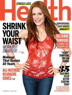 Julianne Moore, Health