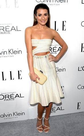 Lea Michele, ELLE's 20th Annual Women In Hollywood Celebration