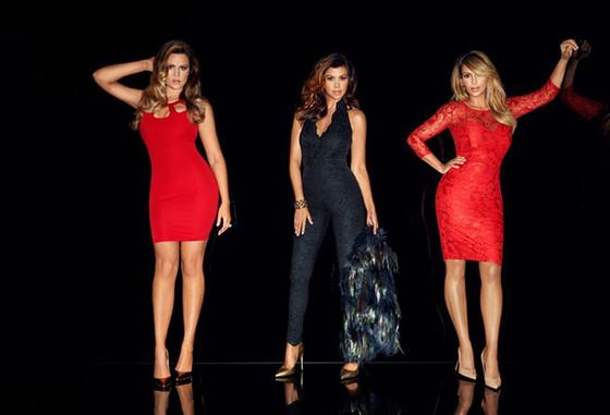 Khloe Kardashian Odom, Kim Kardashian, Kourtney Kardashian, Lipsy