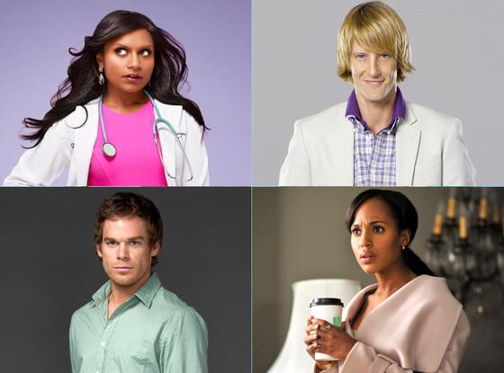 The Mindy Project, Revenge, Dexter, Scandal