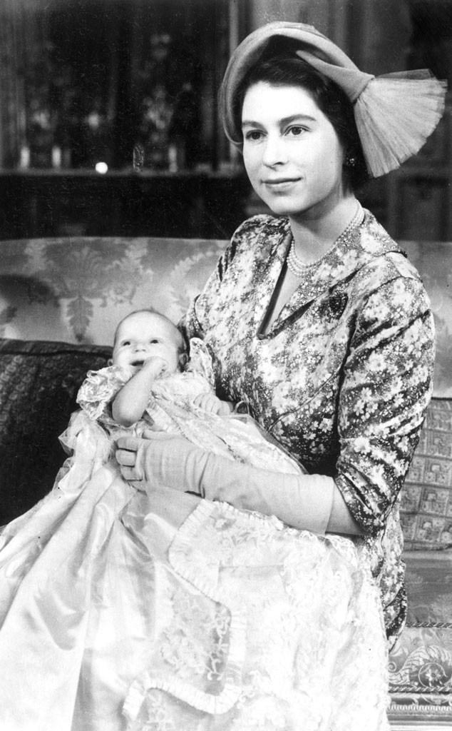 Royal Christening, Queen Elizabeth II, Princess Anne