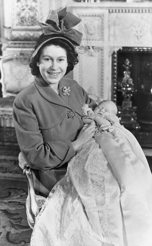 Royal Christening, Queen Elizabeth II, Prince Charles