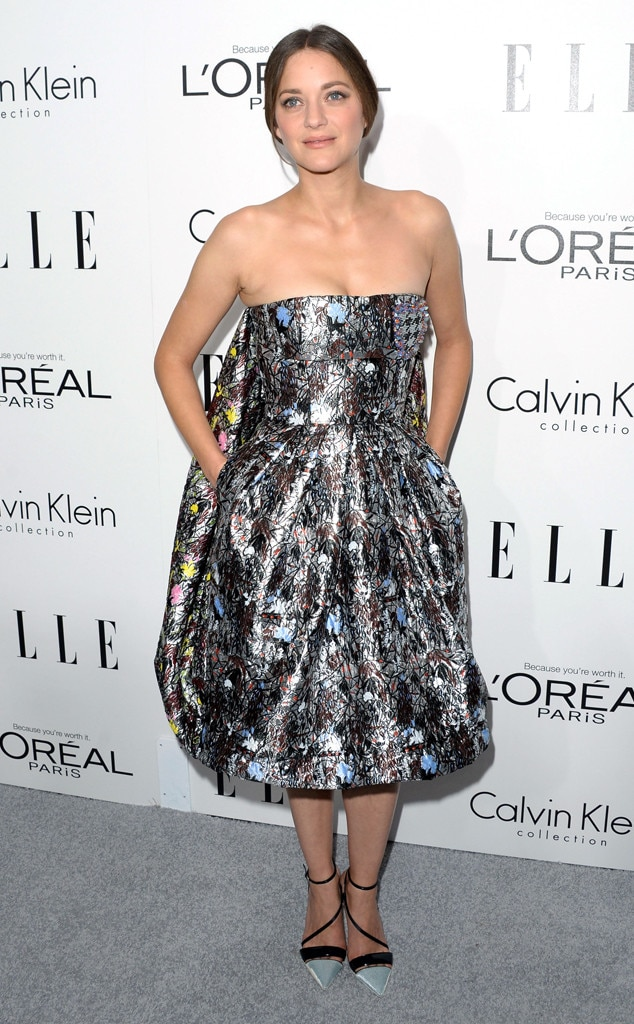 Marion Cotillard, ELLE's 20th Annual Women In Hollywood Celebration