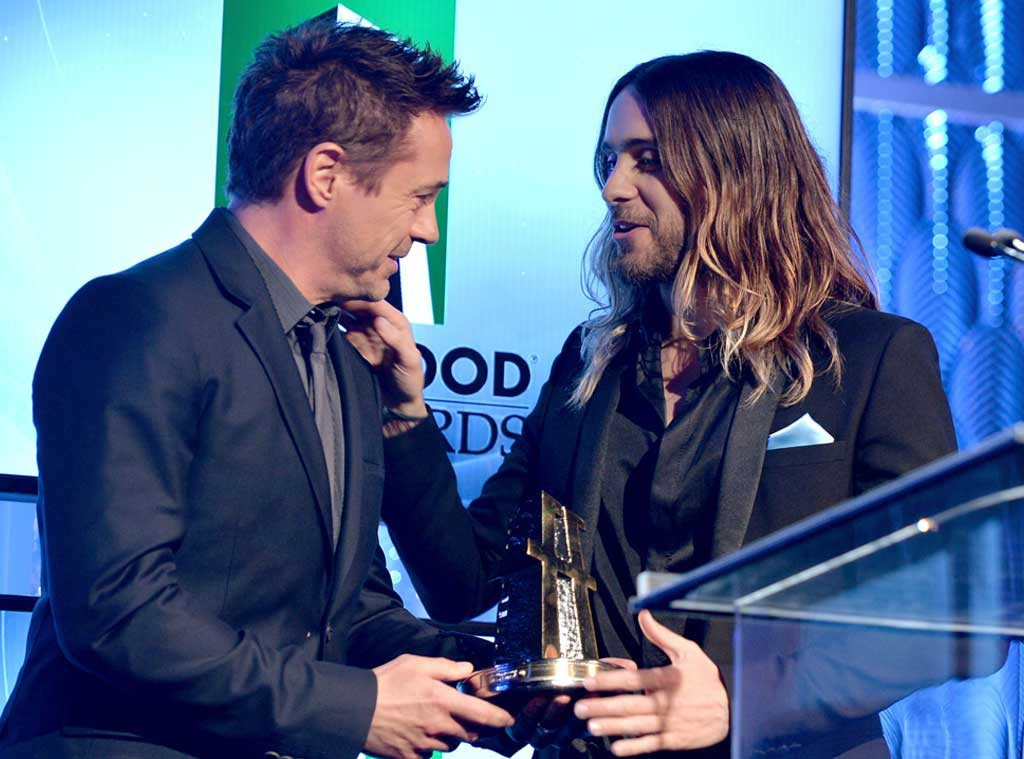 Hollywood Film Awards, Jared Leto, Robert Downey Jr.