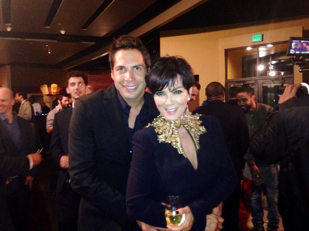 Kris Jenner, Joe Francis, Twit Pic, Kim's Engagement