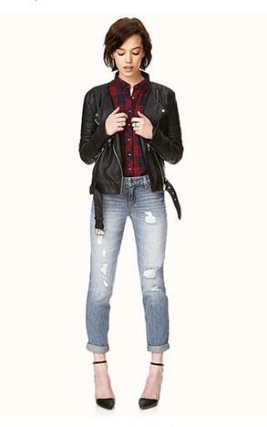 ¿Quieres comprarte un jean tipo boyfriend? Te ayudamos a escogerlo