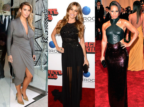 Kim Kardashian, Sofia Vergara, Alicia Keys?