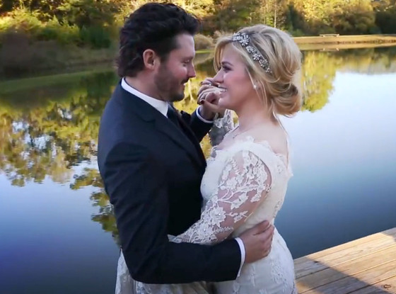 Kelly Clarkson, Brandon Blackstock, Wedding
