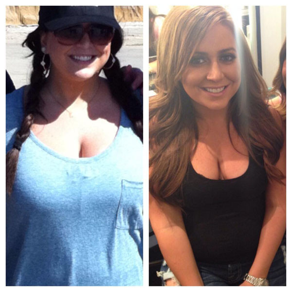 Lauren Manzo, Weight Loss