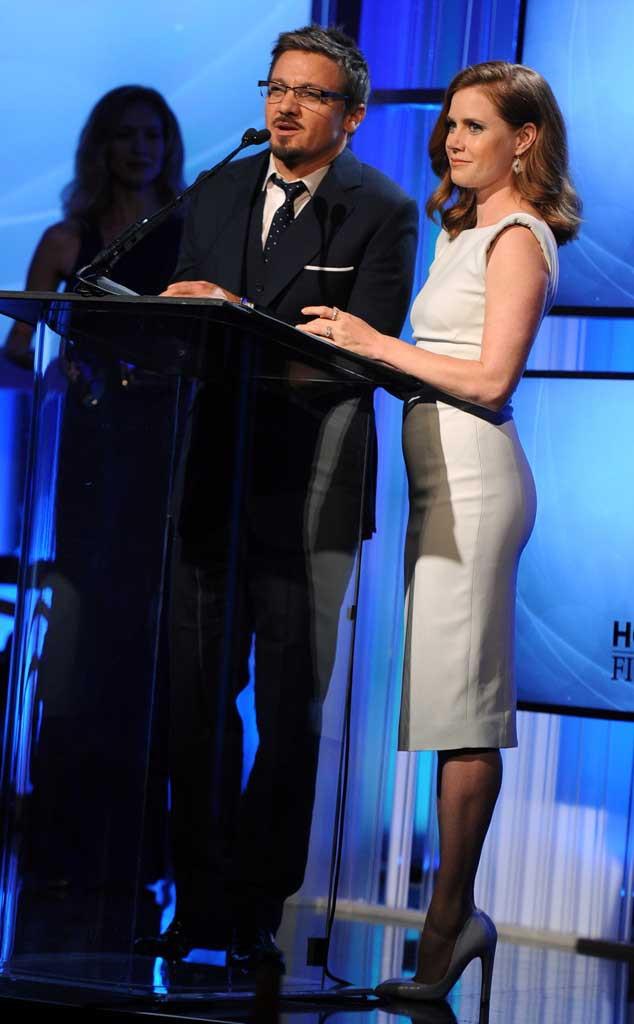 Jeremy Renner, Amy Adams, Hollywood Film Awards