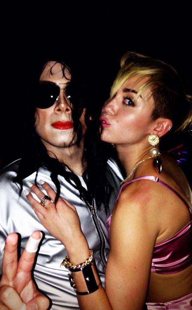 Michael Jackson, Miley Cyrus, Twitter