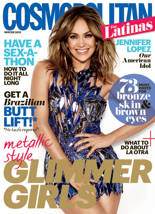 Jennifer Lopez, Cosmo for Latinas