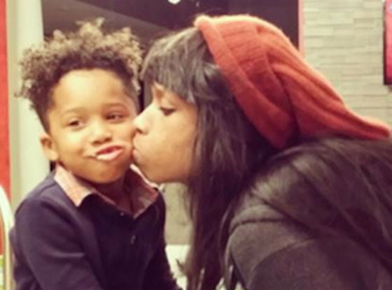jennifer Hudson, David Jr.