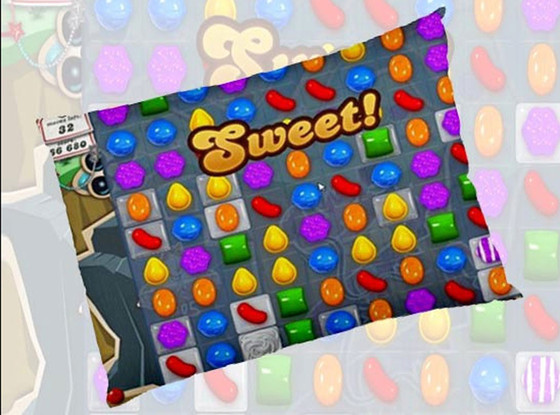 Candy Crush, Pillow Case