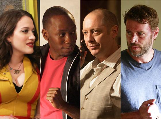 Kat Dennings, 2 Broke Girls, Lamorne Morris, New Girl, James Spader, The Blacklist, Scott Foley, Scandal
