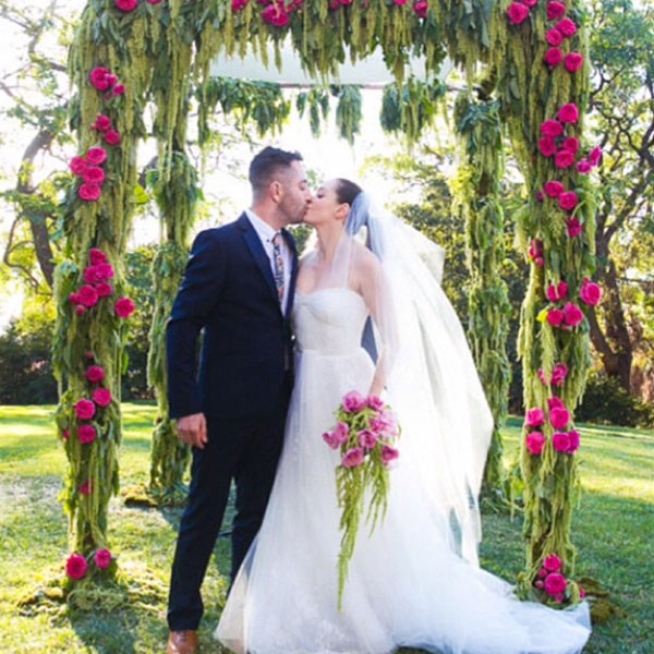 Rose McGowan Wedding Instagram