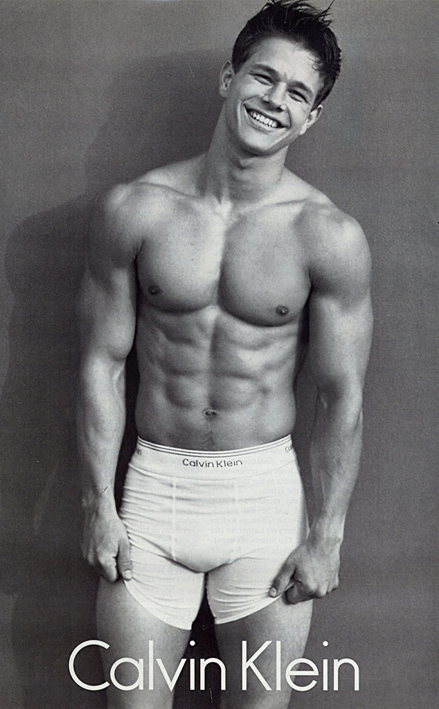 Mark Wahlberg, Calvin Klein Ad, Iconic Celeb Photos