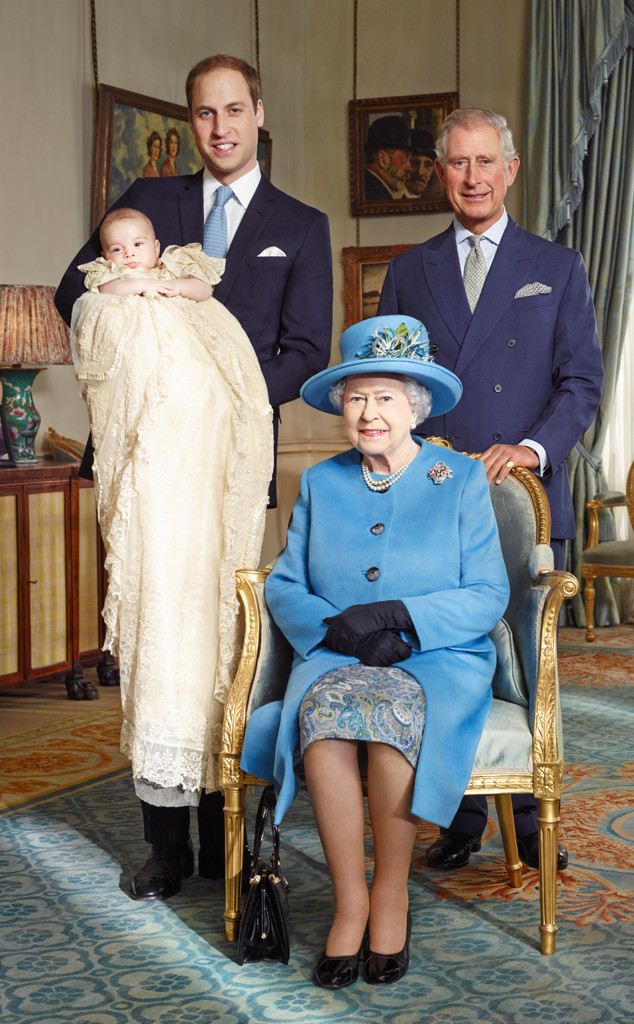 Prince George Christening, Official Portrait