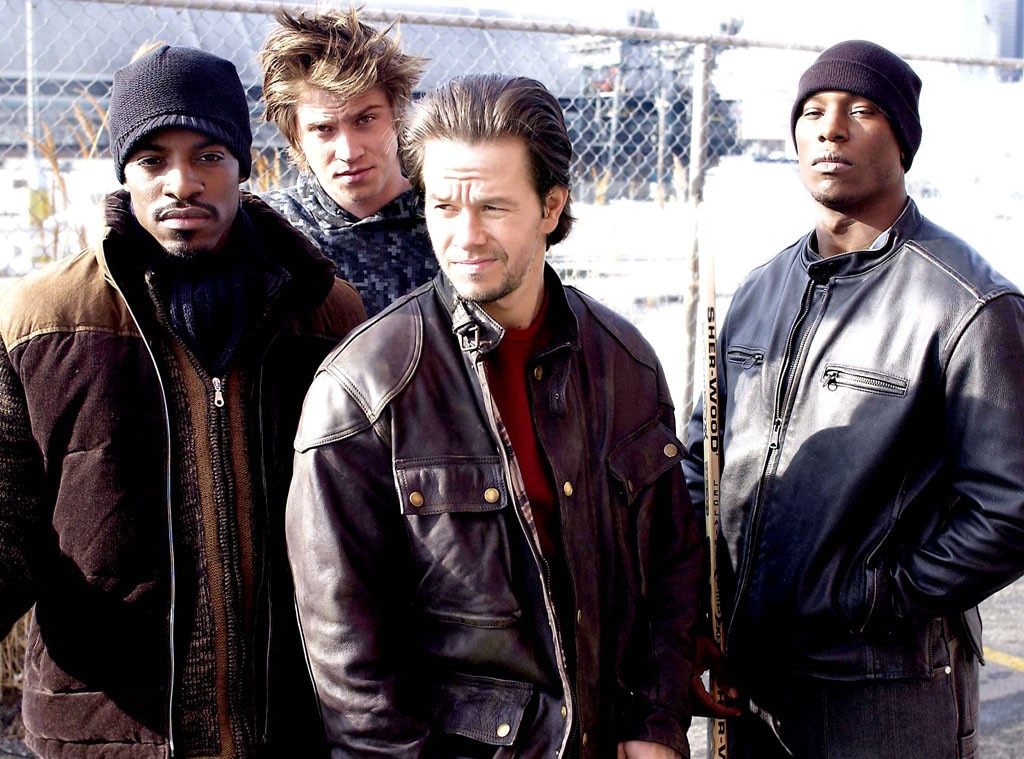 Mark Wahlberg, Garrett Hedlund, Tyrese, Andre 3000, Four Brothers