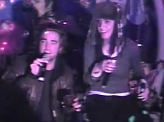 Robert Pattinson, Katy Perry, Karaoke