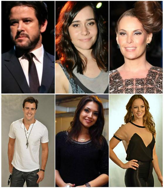 Murilo Benicio, Alessandra Negrini, Carolina Ferraz, Joaquim Lopes, Thais Fersoza, Paola Oliveira