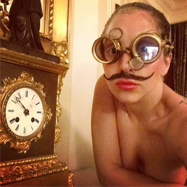 Lady Gaga, Instagram