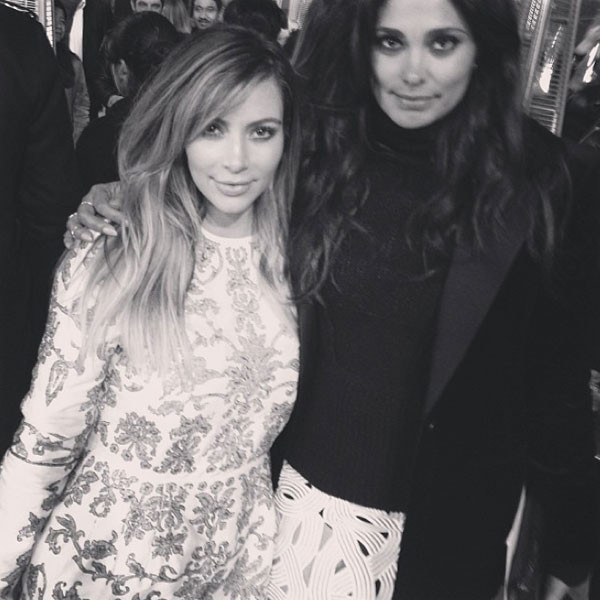 Rachel Roy, Kim Kardashian, Instagram