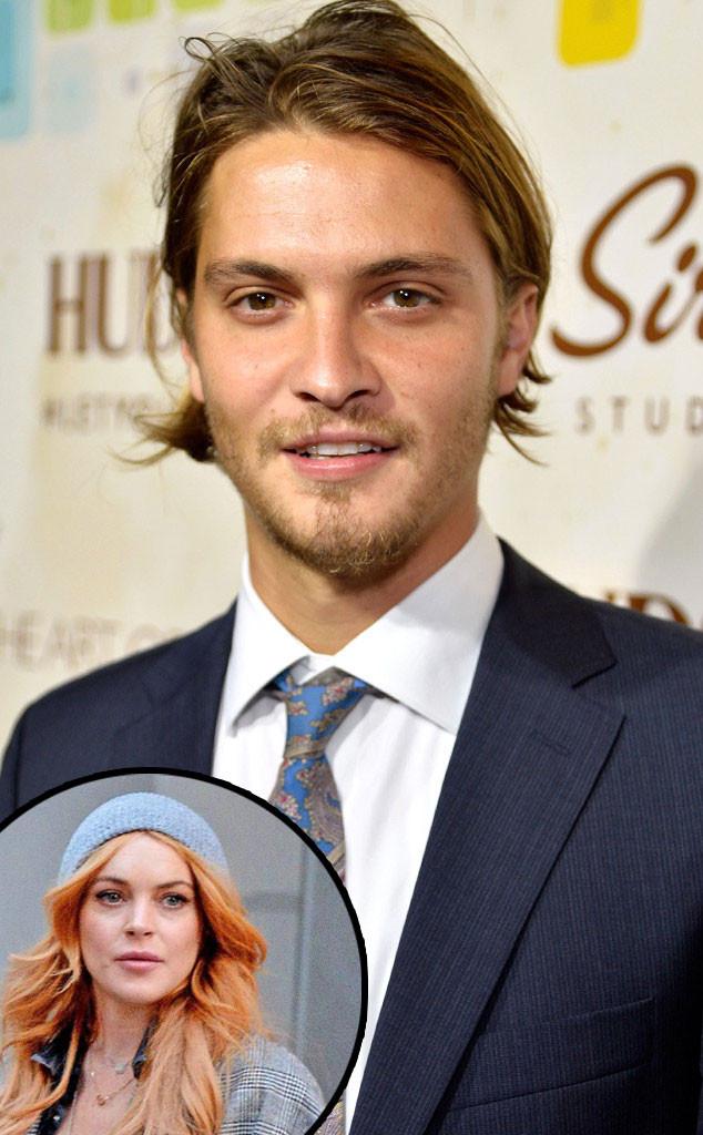 Luke Grimes, Lindsay Lohan