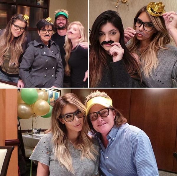 Kim Kardashian, Kendall Jenner, Bruce Jenner, Instagram