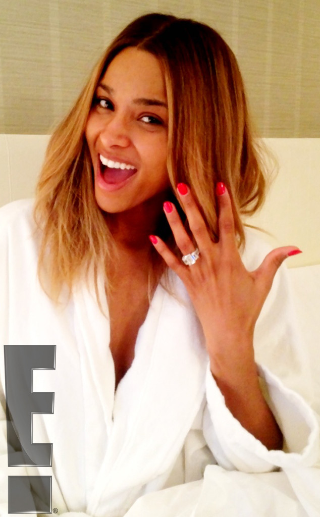 Ciara, Engagement Ring