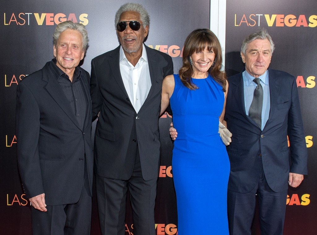 Michael Douglas, Morgan Freeman, Mary Steenburgen, Robert De Niro, Last Vegas