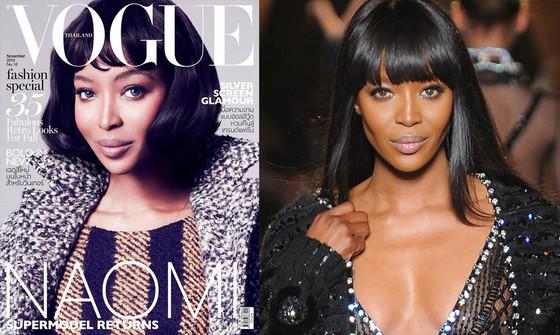 Naomi Campbell, Vogue Thailand