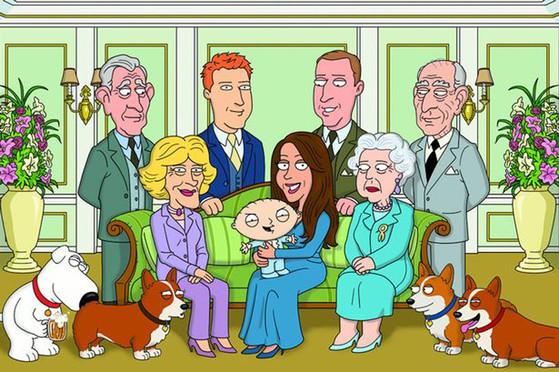 Family Guy Christening
