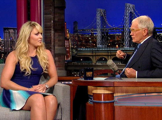 Lindsey Vonn, David Letterman