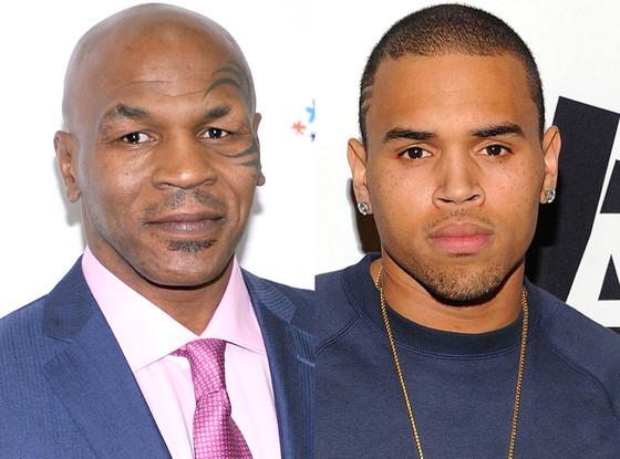 Mike Tyson, Chris Brown