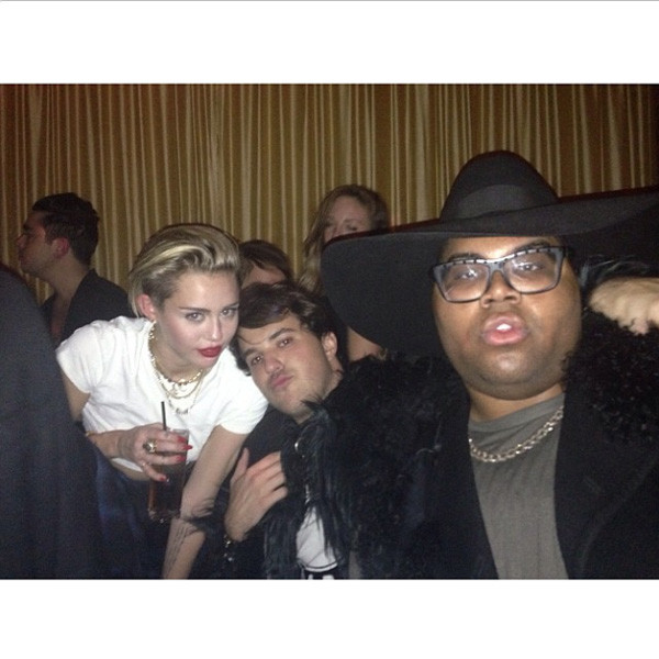 Miley Cyrus, EJ Johnson, Instagram