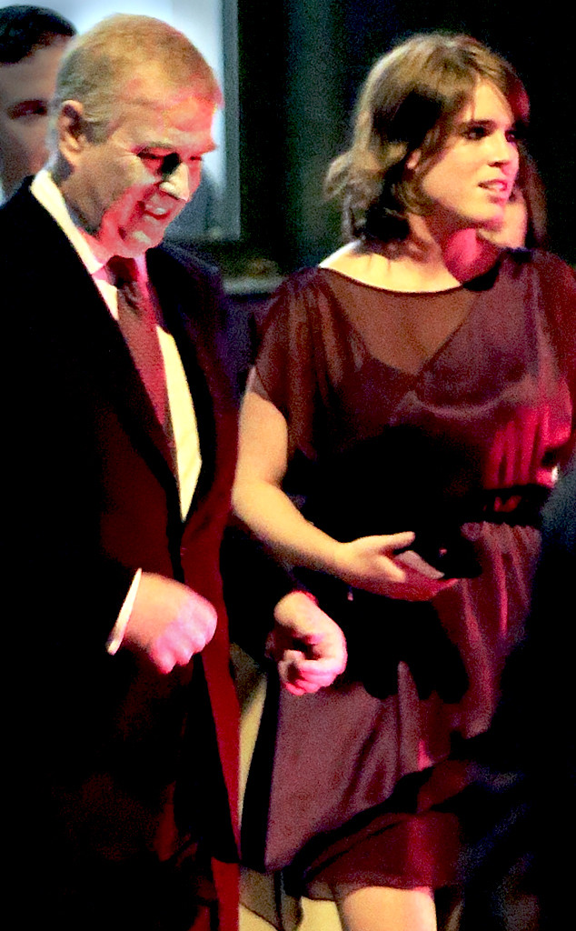 Prince Andrew, Princess Eugenie