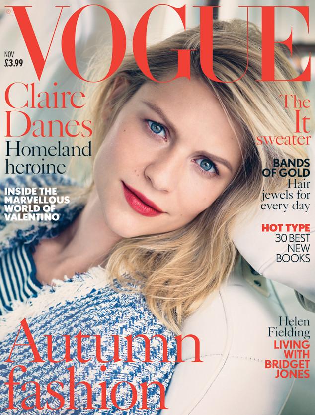 Claire Danes, Vogue UK