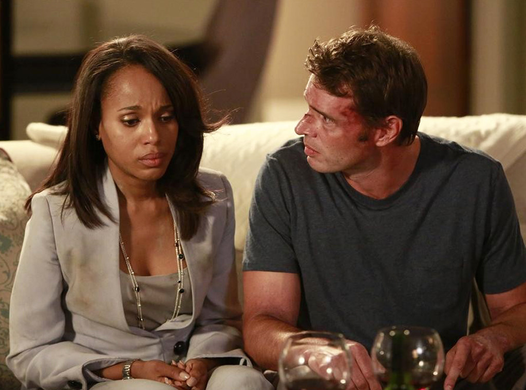 Kerry Washington, Scott Foley, Scandal